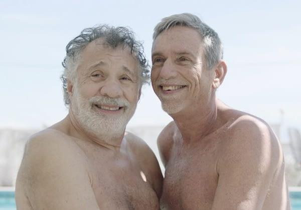 Two older men Joe and Michael fulfill their dream of having sex on film.