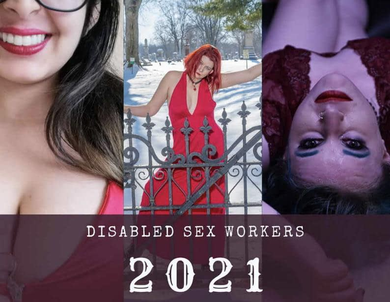 Disabled Sex Workers 2021 Calendar cover